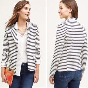 Anthropologie Dolan Stripe Ava Blazer Jacket